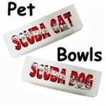 Scuba Pet Bowls