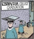 Computer College Graduation