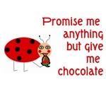 Ladybug Chocolate Lover