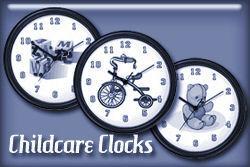 Childcare Wall Clocks