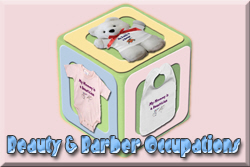 Beauty & Barber Occupation Baby Clothes and Gifts