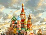 St Basel Cathedral Moscow Kremlin