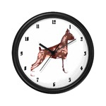 Boxer wall clocks