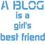A Blog Is A Girl's Best Friend