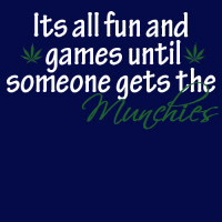 Fun and games until munchies