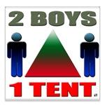 2 Boys 1 Tent