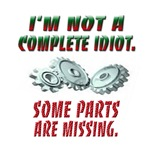 I'm not a complete idiot