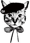 Beret Cat