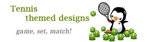 Tennis themed designs