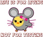 Soychick Mouse Against Testing