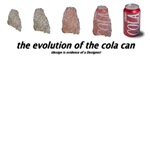 evolution of the cola can