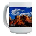 Sedona Name Mugs