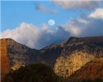 Moon Over Mountain Glow 3704