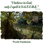 'I believe in God.' quotation - Pond