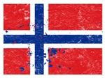 Norwegian Flag (Punk)