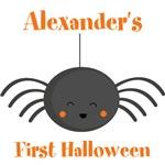 Kawaii Halloween Spider Personalized