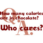 Calories In Chocolate
