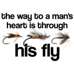 Fly Fish Man's Heart