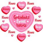 Grandma's Sweethearts Personalized