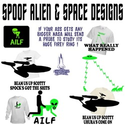 Star Trek apparel,Aliens clothing and Gifts
