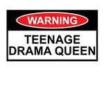 Teenage drama queen shirts for Teenagers