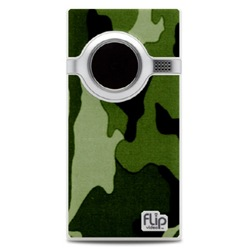 Cool Green Army camouflaged Flip Mino
