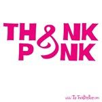 Think Pink Ribbon Design (light)