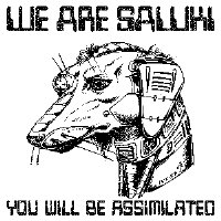Saluki Borg for Trekkie fans!