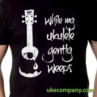 While My Ukulele Gently Weeps