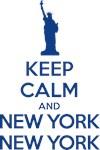 Keep calm and New York New York