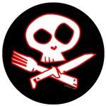 Red Foodie Skull