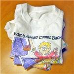 Grandma always comes back! Toddler Tees