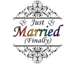 Just Married (Finally) Gay Design