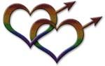 Rainbow Male Gender Symbols