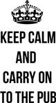 Keep calm carry on parody