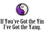 Yin Yang Purple