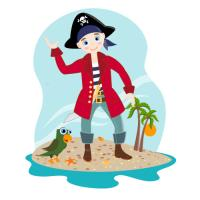 The pirate kid