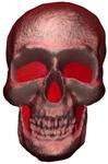 red skull.