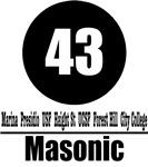 43 Masonic (Classic)