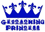 Geocaching Princess - Blue