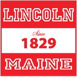 Lincoln, Maine - Since 1829 (red)