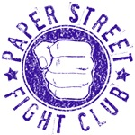 Paper Street Fight Club (blue print)