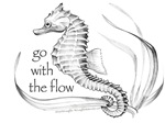 go with the flow sea horse