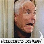 John McCain - Here's Johnny Filmgrain