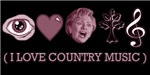 Anti Hillary - I Love Country Music