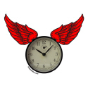 TIME FLIES T-SHIRTS AND GIFTS