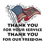 Military Thank You Gifts