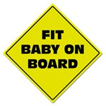 Fit baby - sign