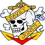 Davy Jones Locker Skull Tattoo