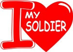 I (Heart) Love My Soldier
